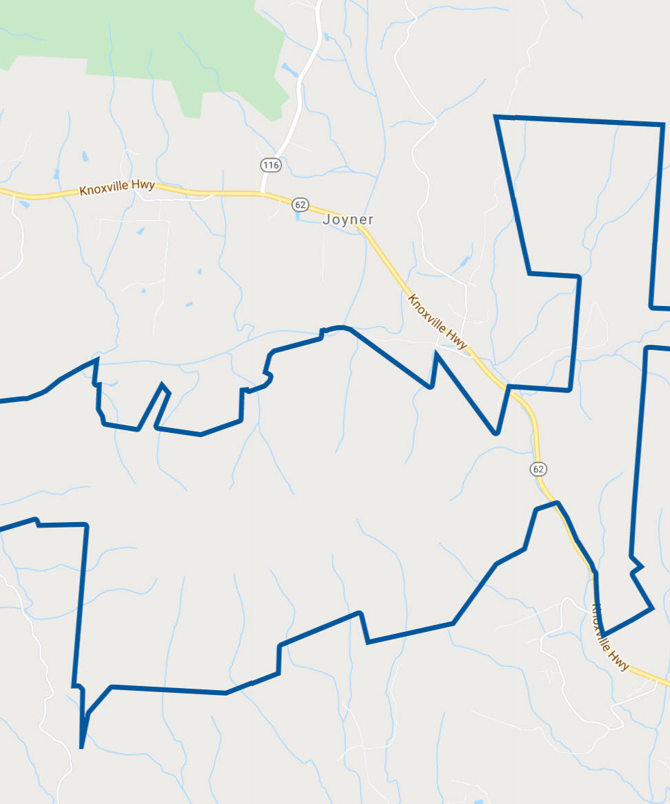 Google Map icon for Cumberland Forest South Unit