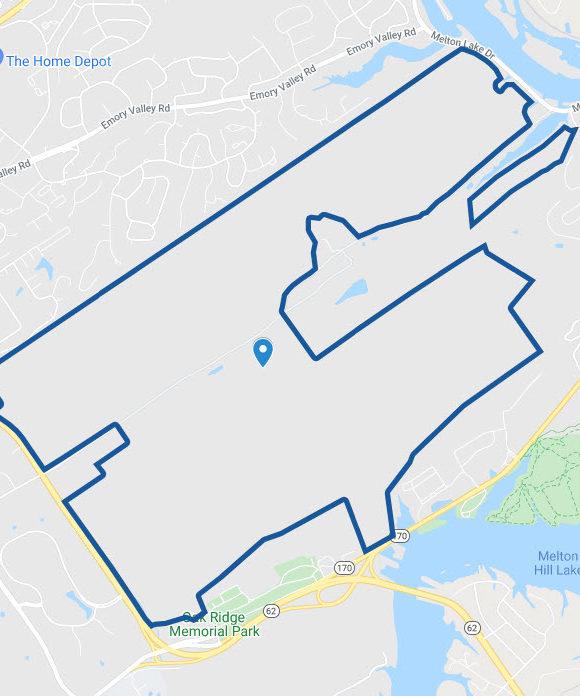 Google Maps icon for Oak Ridge Forest Unit